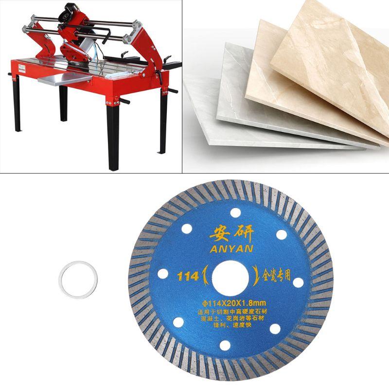 4.5 Inch Diamond Ceramic Saw Blade Disc Wheel Sharp Cutter Porcelain Tile Marble 35ED