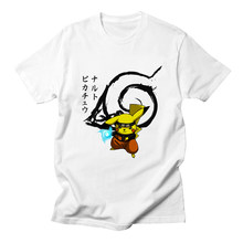 T-shirt japonais Anime pokemon NARUTO Cosplay Naruto Uzumaki Itachi Uchiha T-shirt à manches courtes t-shirts couverture en coton(China)