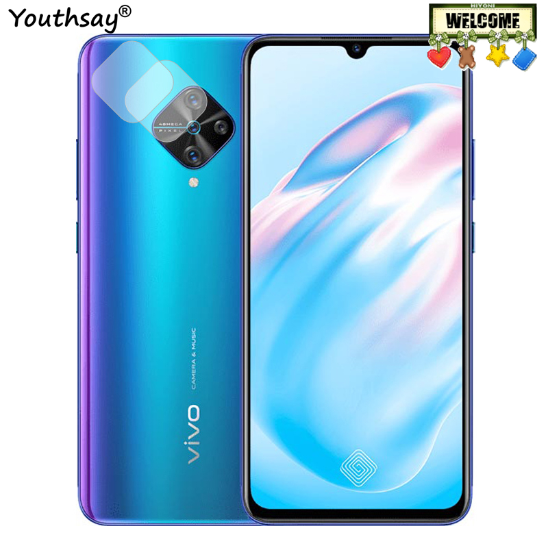 2PCS For Vivo V17 Glass Camera Lens Protector For Vivo V17 Tempered Glass Screen Film Glass For Vivo V17 Protector Glass