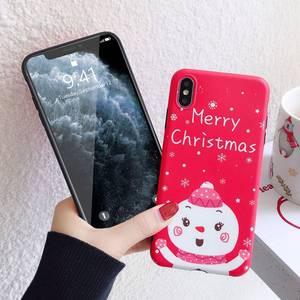 Image 2 - KISSCASE Kerst Soft TPU Case Voor iPhone 11PRO Cover Leuke Case Voor iPhone 7 8 X XS 11 11PRO MAX XS MAX XR 7PLUS 6PLUS Fundas