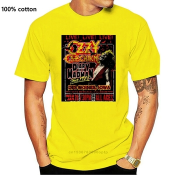 Ozzy Osbourne Diary of a Madman Tour (Black) T-Shirt - NEW OFFICIAL! image
