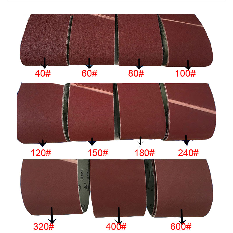 10cm Width Abrasive Belt Sandpaper Polishing Belt Flat Joint Belt