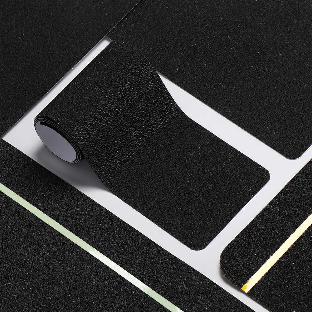 1PC החלקה בטיחות שלב קלטות אמבטיה נגד החלקה מחצלת סקייטבורד מדרגות מוסך שרשראות דביק קלטות סכנת אזהרת רצועות