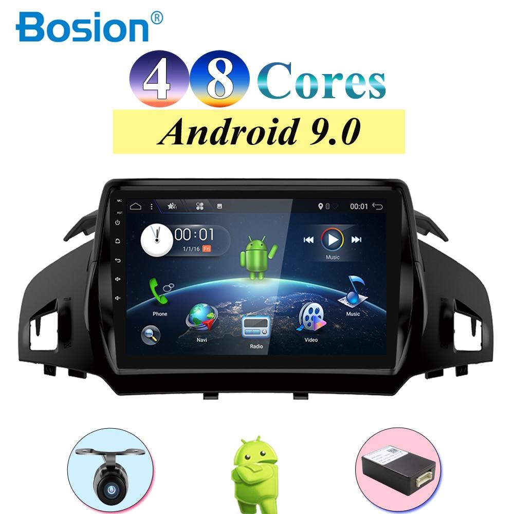 2 din Авторадио автомобиля стерео радио Android 9,0 для Ford Kuga Радио мультимедийный плеер с Wi Fi Разделенный экран 2G ram 32G rom