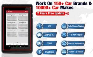 Image 5 - LAUNCH X431 Pro Mini Diagnostic Tool For 10000+ Car Modes Full System X431 V Pros Mini Key Fob Program /ECU Coding/30+ Resets