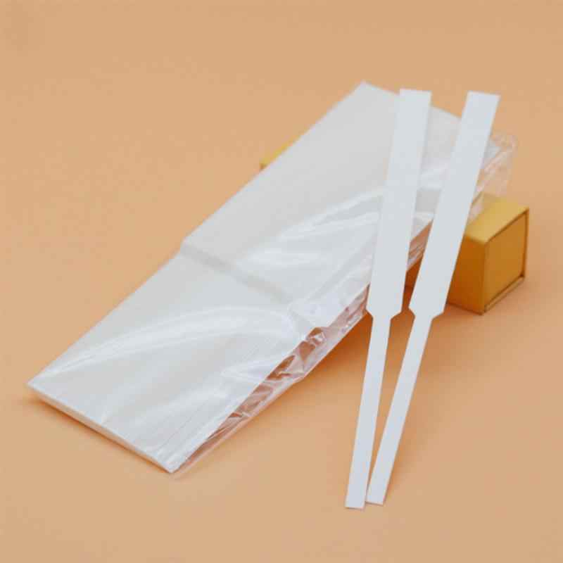 100 Pcs Aromaterapi Fragrance Strip Tes Parfum Esensial Minyak Strip Tes Tester Strip Kertas
