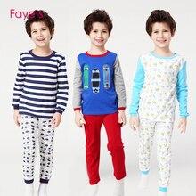 Boys Pajamas Sets 4-12Years Pyjamas kids Cartoon Nightwear Children Clothes Pijamas Clothing