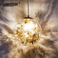 Скандинавские E27 подвесные светильники Золотой и Серебряный цветок подвесной светильник креативная прозрачная стеклянная лестница Лофт д...