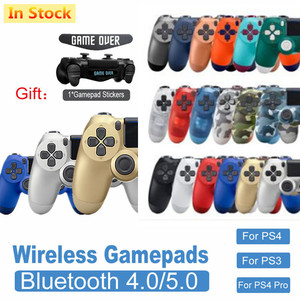 Bluetooth Wireless Joystick Gamepad for PS4 Controller Fit For mando ps4 Console For Playstation Dualshock 4 Gamepad For PS3