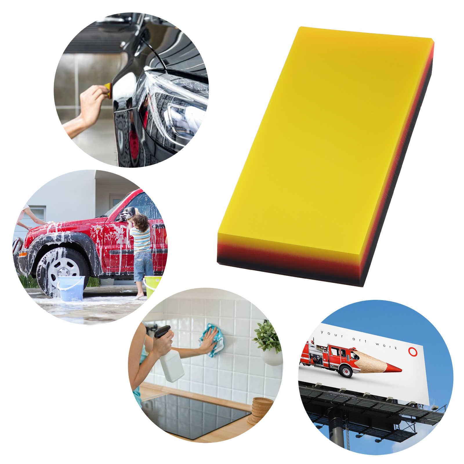 FOSHIO herramientas de fibra de carbono para coche, herramienta para envolver película adhesiva, herramienta para envolver ventana automática, papel tintado, adhesivo magnético, escurridor, rascador de afeitar