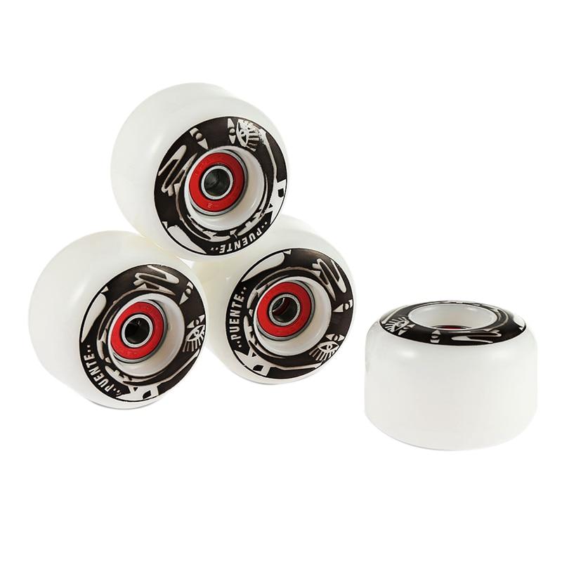 4 шт., прочные полиуретановые колеса для скейтборда