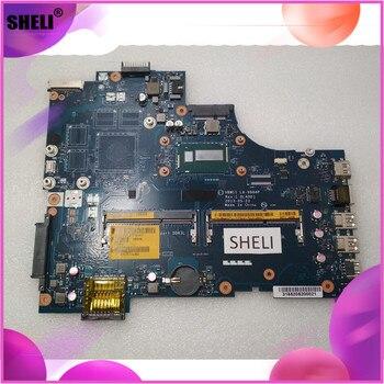 SHELI LA-9984P CN-0W6XCW 0W6XCW W6XCW para Dell 3737 5737 Placa base con I5-4200U CPU VBW11