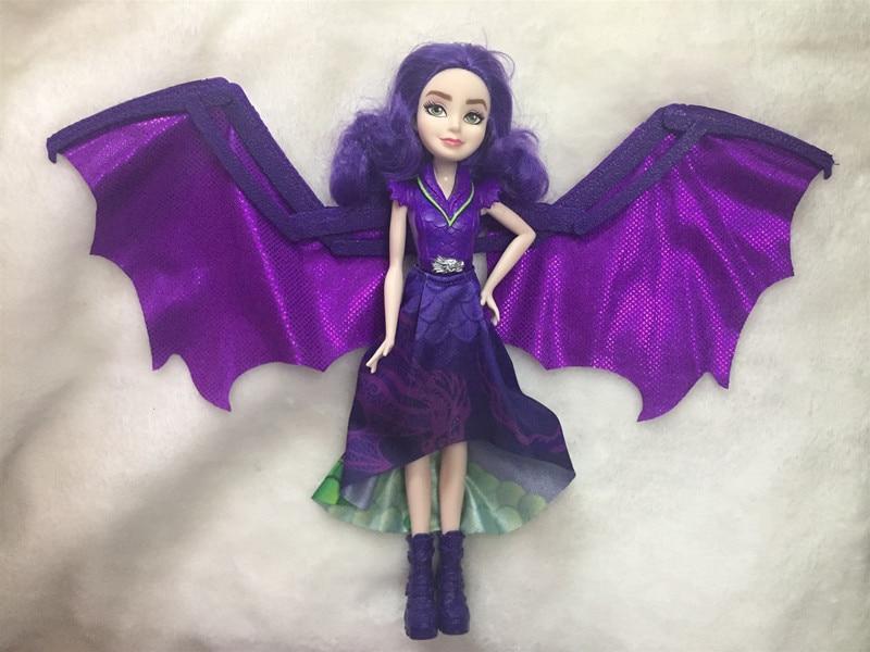 Original 11'' Descendants Doll Action Figure Doll Maleficent  Baby Dolls For Girls Boys Evie Mal Descendants  2 3 Bjd