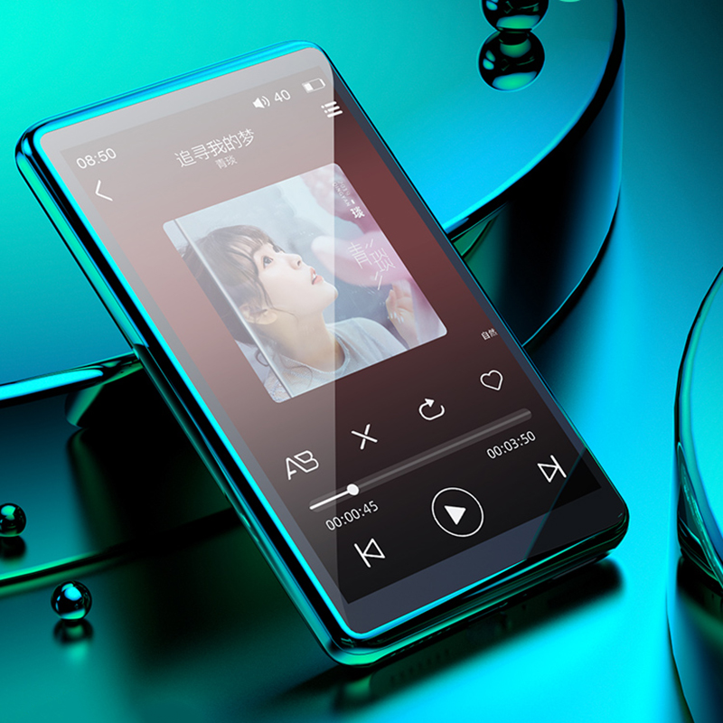 4.0 inch Bluetooth MP4 Player Touch full Screen Built-in Speaker Music Player with FM E-book game record  Video Media player
