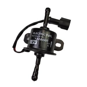 Image 5 - 129612 52100 Yanmar 4TNV94 4TNV98 업그레이드 연료 공급 펌프 용 DC12V 24V 전자 연료 공급 펌프