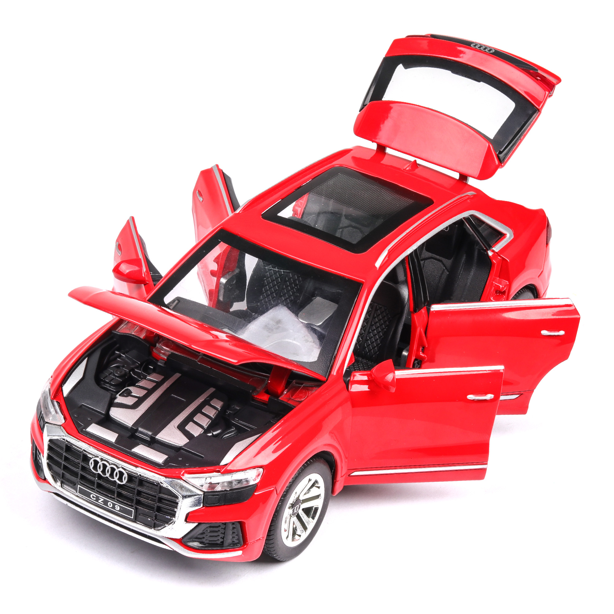 Audi Q8 with Sound and Lights Model Car 33