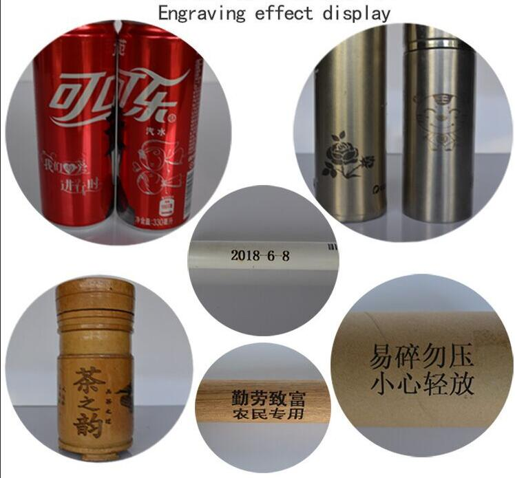 Win8 VEVOR Cylindrical CNC 15000mW CNC Router Machine 100x200 mm Mini Laser Engraver GRBL Control USB Port On Cans Stainless Steel Cola Bottles for Win7 Win10 WinXP