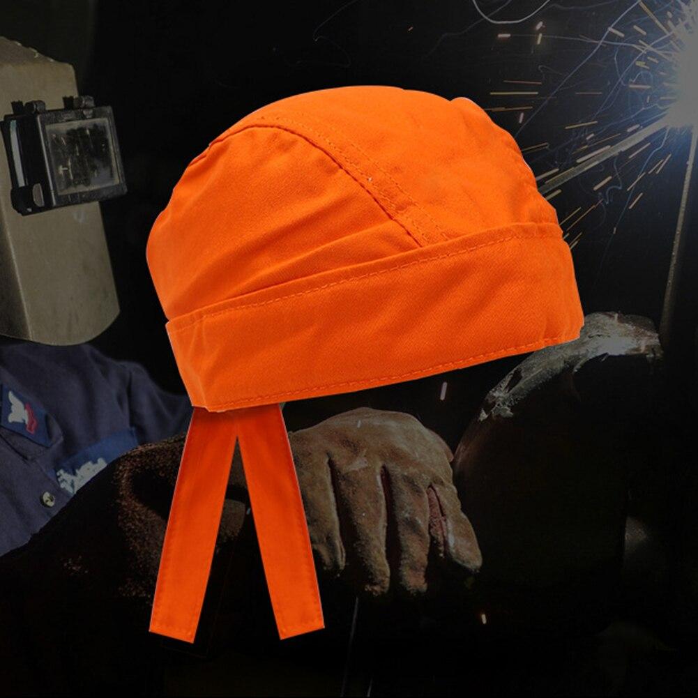 Gorro bandana pañuelo de soldador ignífugo de protección