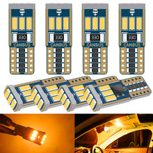 W5W 194 T10 LED Canbus Bulbs On Car Automotive Goods Interior Lights For Auto Ford Focus 1 2 3 Fiesta Mondeo Ecosport Kuga F-150