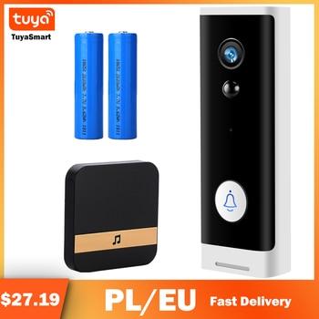 Tuya APP 2MP Doorbell Camera WIFI Security CCTV Mini Wireless Smart Home Door Bell 1080P IR Night Vision - discount item  30% OFF Intercom