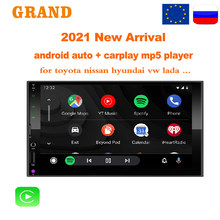 GRAND Android Auto Carplay Radio 2din Car Mp5 Player 7