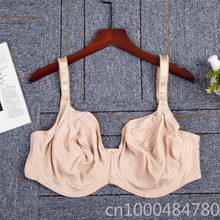 30-42 DD E F FF G GG H J JJ Women Underwire Plus Size Non Padded Ultra Thin Full Coverage Bra
