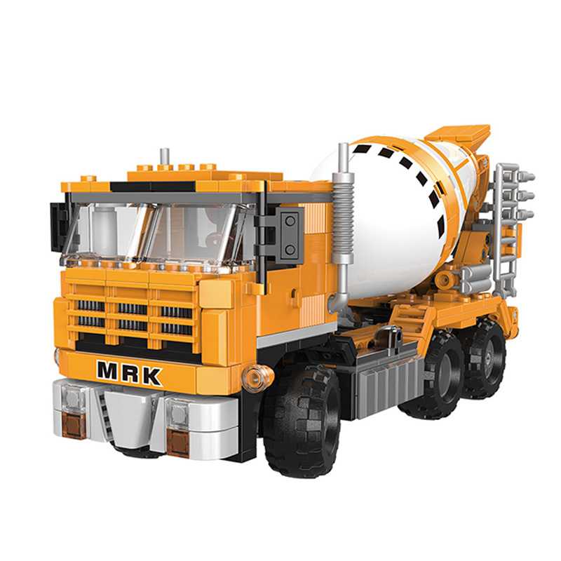 XINGBAO 03040 NEW City Engineering Series 654pcs The Cement Mixer Building Blocks Bricks Christmas Gift Compatible Legoings