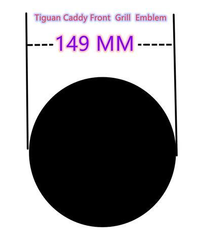 novo preto brilhante frente e traseiro emblema emblema grade tronco logo emblema para vw 2016