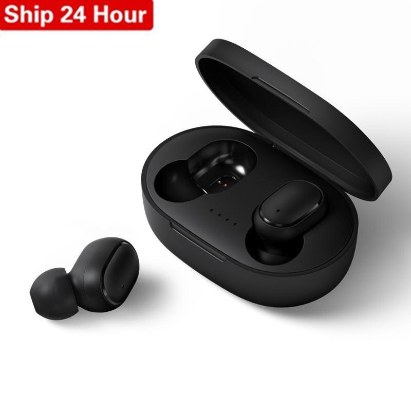Mini a6s tws fone de ouvido bluetooth para redmi airdots esportes fone de ouvido sem fio pro fone de ouvido bluetooth sem fio