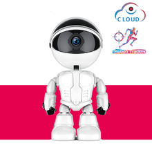 1080P HD Surveillance Camera IP Cloud WIFI Robot Smart Home Safety Child Gift Companion Video Wireless CCTV Camara