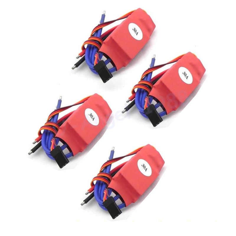 4 шт./лот Simonk 10A/12A/15A/20A/30A/40A/50A/70A/80A прошивка электронный регулятор скорости ESC для RC Мультикоптер вертолет