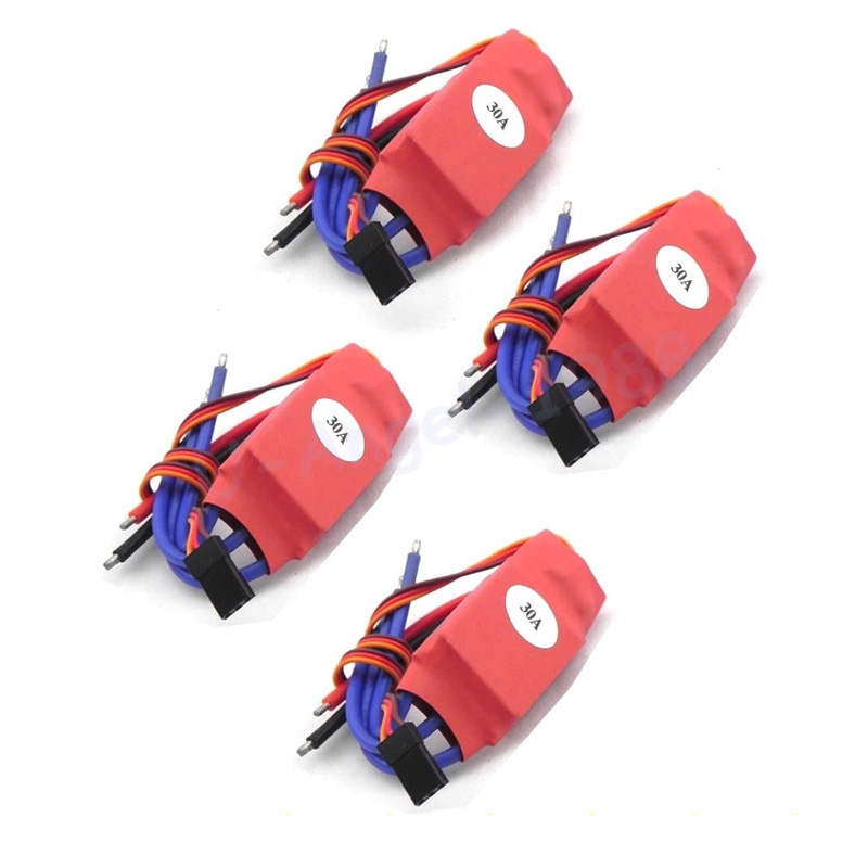 4pcs/lot Simonk 10A/12A/15A /20A /30A/40A /50A/70A/80A Firmware Electronic Speed Controller ESC For RC Multicopter Helicopter