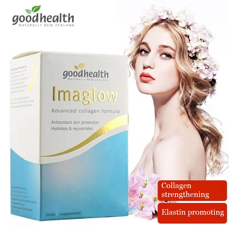 Good Health Imaglow Advanced Collagen Formula Plus Bio Marine Nutrition Supplement 60Tabs Antioxidant for Youthful Looking Skin image