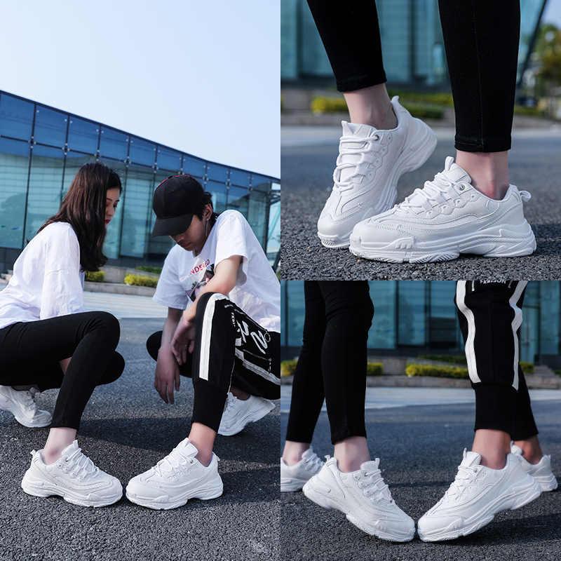 2019 winter Hot Chunky Sneakers mannen sportschoenen Vulcaniseer Wit Sneakers Mand Femme Papa Schoenen running minnaar schoenen mannen Krasovki