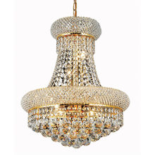 Phube Lighting French Empire Gold Crystal Chandelier Chrome Chandeliers Lighting Modern Chandeliers Light +Free shipping!(China)
