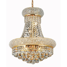 Phube lustre en cristal, style Empire français, éclairage décoratif décoratif de plafond, design moderne, doré et chromé, livraison gratuite