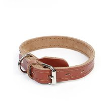 PU Leather Solid Soft Colorful Pet Dog Collar For Small Medium Large Dogs Neck Strap Adjustable pu leather solid soft colorful pet dog collar for small medium large dogs neck strap adjustable safe puppy kitten cats collar