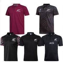 Camisa de rugby polo t camisa nova zelândia casa longe rugby jerseys camisa desempenho camiseta singlet 4xl 5xl
