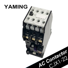 Contattore di CA CJX1-22/22 3TB43 Montaggio Su Guida DIN 2NO 2NC Comunicazione 12 V/24 V/36 V /48 V/110 V/127 V/220 V/380 V 22A Elettrico 50 HZ/ 60HZ