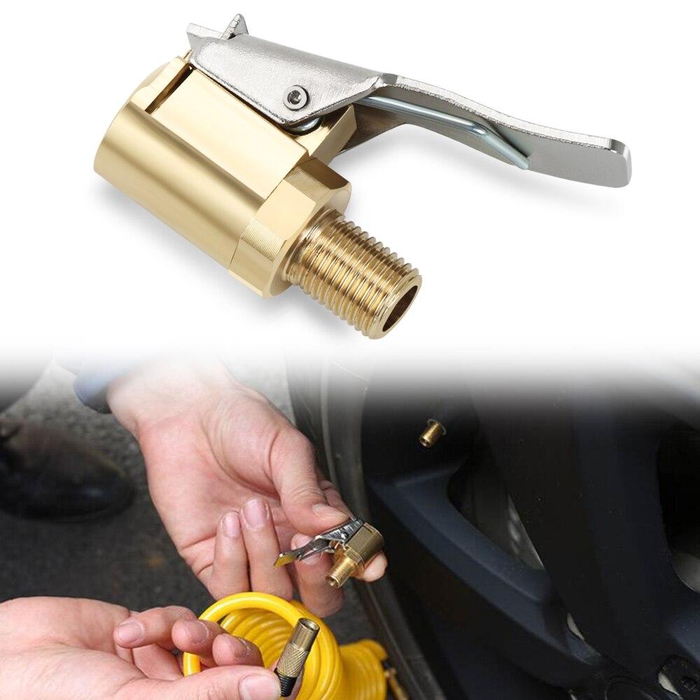 Зажимной клапан для накачки автомобильных шин, зажим для насоса Skoda Octavia 2 A7 A5 A4 Vrs Fabia 2 1 Rapid Yeti Superb 3 Felicia Citigo RS