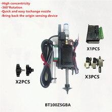 BT100 SMT kafa Nema8 içi boş mil step pick yeri kafa SMT DIY mountor 5mm özel bağlantı memesi döner ortak