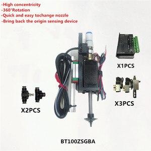 Image 1 - BT100 SMT kafa Nema8 içi boş mil step pick yeri kafa SMT DIY mountor 5mm özel bağlantı memesi döner ortak