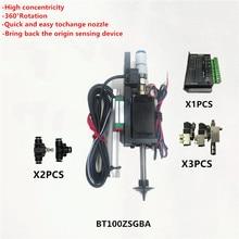 Bt100 smt cabeça nema8 eixo oco passo para picareta lugar cabeça smt diy mountor 5mm conector especial bico rotativo comum