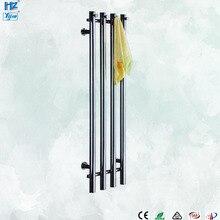 2020 Popaular tasarım banyo paslanmaz çelik 304 dikey ısıtmalı havlu askısı isıtıcı duvara monte HZ 932A