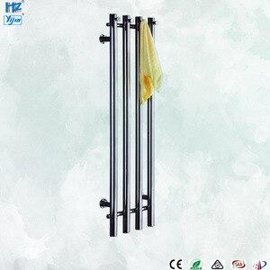 Image 1 - 2020 popaular design de aço inoxidável 304 vertical aquecida toalheiro toalha aquecedor fixado na parede HZ 932A