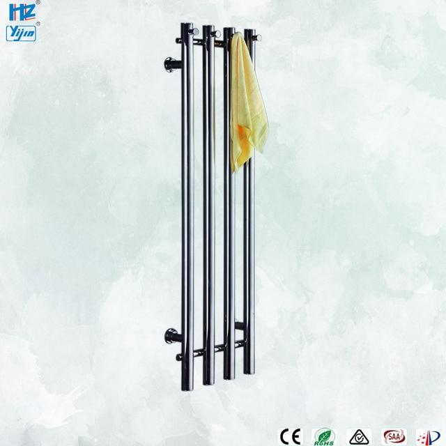 2020 popaular design de aço inoxidável 304 vertical aquecida toalheiro toalha aquecedor fixado na parede HZ 932A