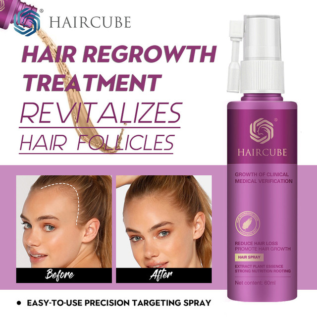 Hair Growth Treatment Spray Anti Hair Loss Essence Serum for Fast Thick Hair Tonic Eyebrows Natural Healthy Hair Loss Treatment