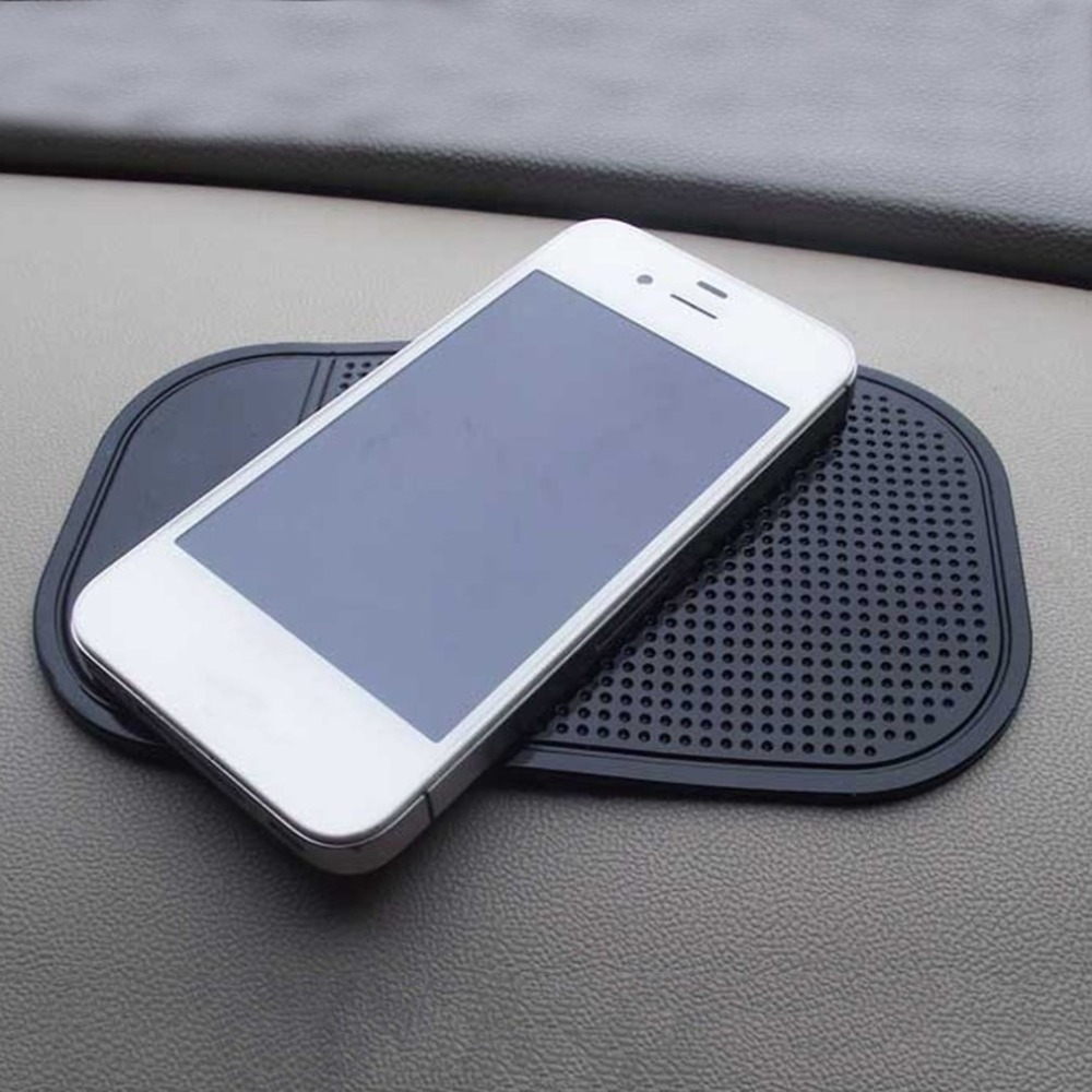 Car Dashboard Sticky Pad Silica Gel Anti Slip Mat Car Interior Accessories title=