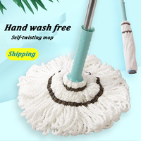 Mop With Spin Noozle For Mop Wash Floors Cloth Cleaning Broom Head Mop For Cleaning Floors House Cleaning home