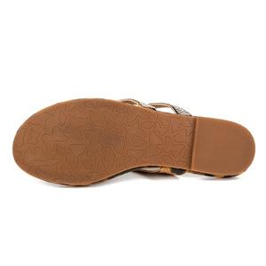 Image 5 - Kcenid 2020 Women slippers leopard flip flops summer women crystal diamond bling slip on beach slides sandals casual shoes new